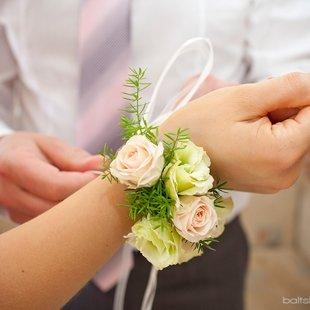 Romantiska rokassprādze.