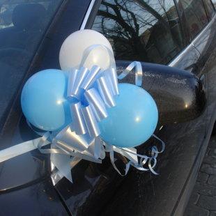 Balonu dekors- piestiprināms pie auto spoguļiem,rokturiem,restes.3.50euro.